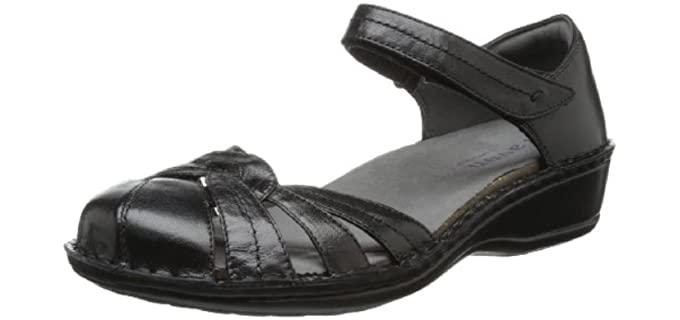 Aravon Women's Clarissa - Fisherman Style Dress Sandal