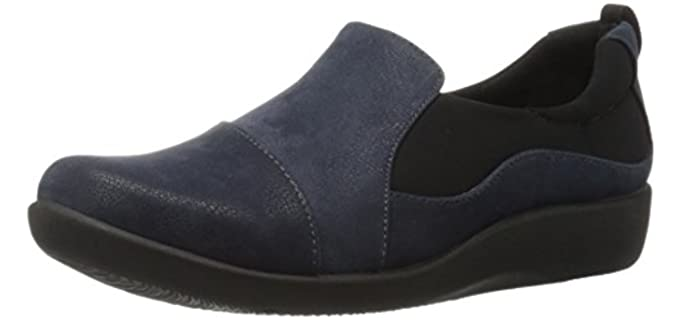 Clarks Women's Sillian Paz - Cloudsteppers Technology Cashier Shoes