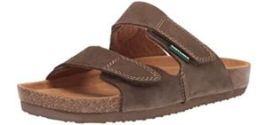 Eastland Men's Caleb - Sandals with a Cork Footbed