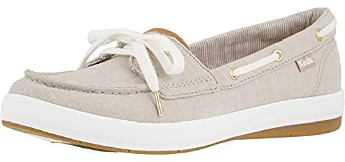 Keds Women's Charter Chambray - Comfortable Boat Shoe