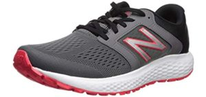 New Balance Men's M520V5 - Training Shoe for Plantar Fasciitis and High Arches
