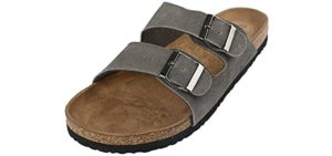 Northside Men's Phoenix - Two Strap Sandals with a Cork Footbed