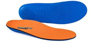 Powerstep Men's Pinnacle - Plantar Fasciitis Insoles