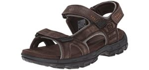 Skechers Men's Louden - Diabetic Sandals
