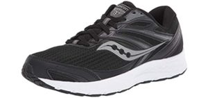 Saucony Men's Cohesion 13 - Running Shoe for Peroneal Tendinitis