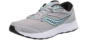 Saucony Women's Cohesion 13 - Running Shoe for Peroneal Tendinitis
