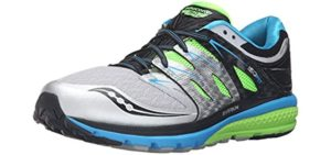 Saucony Men's Zealot - Metatarsalgia Running Shoe