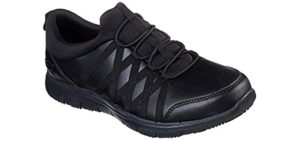 Skechers Women's Ghenter Dagsby SR - Shoe for Work