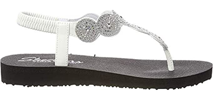 Skechers Women's Stars Meditation - Dress Sandal