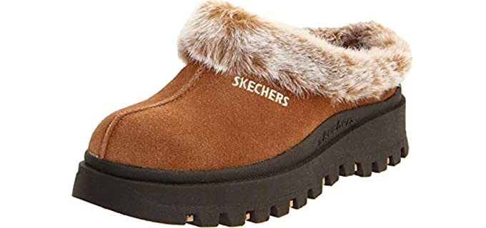 Skechers Women's Fortress - Clog Slippers