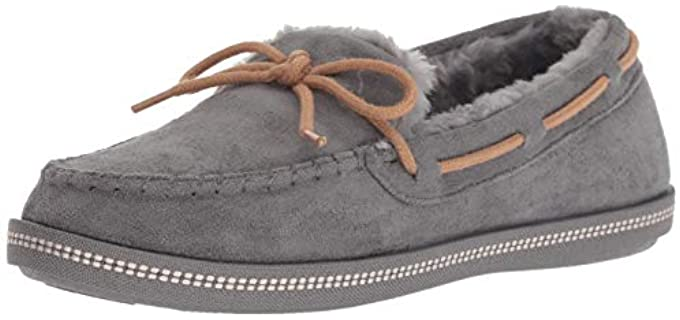 Skechers Women's Cozy Campfire  - Moc-Toe Faux Fur Lined Slipper