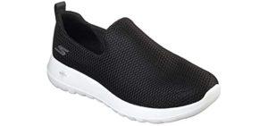 Skechers Men's Go Walk Max - Slip On Plantar Fasciitis Shoe