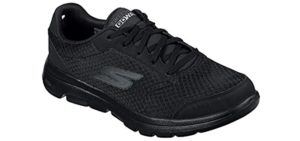 Skechers Men's Go Walk 5 Qualify - Achilles tendinitis Walking Shoes
