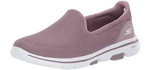 Skechers Women's Go Walk 5 - Slip-On Plantar Fasciitis Shoes