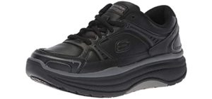 Skechers Women's Cheriton - Rocker Bottom Work Shoe