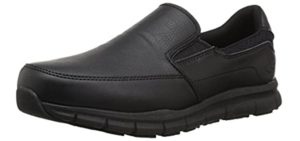 Skechers Men's Nampa Groton - Slip-On All Purpose Work Shoe