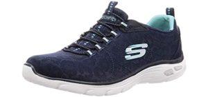 Skechers Women's Empre D'Lux - Flat Feet Walking Shoe