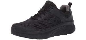 Skechers Men's D'Lux Walker - Flat Feet Walking Shoe