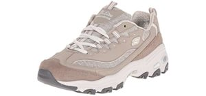 Skechers Women's D'Lites - Casual Sneakers for Hip Pain
