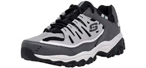 Skechers Men's Afterburn - Casual Sneakers for Hip Pain