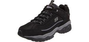 Skechers Men's Energy - Wide Width Platform Sneaker