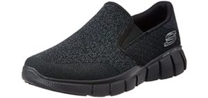 Skechers Men's Equalizer 2.0 - Slip On Knit Sneakers