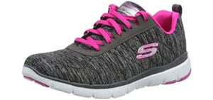 Skechers Women's Flex Appeal 3.0 - Running Shoe