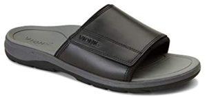 Vionic Men's Holbrook - Back Pain Slide Sandals