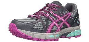 Asics Women's Gel Kahana 8 - Achilles Tendinitis Trail Running Shoe