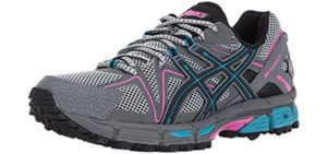 Asics Women's Gel Kahana 8 - Shin Splint Trail Running Shoe