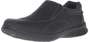 Clarks Men's Cotrell - Wide and Flat Feet Dress Shoes for