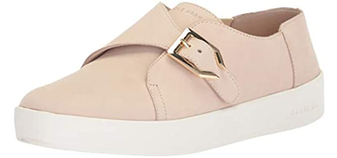 Cole Haan Women's GrandPro Spectator - Slip on Monk Shoe