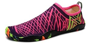 DoGeek Women's aqua Sock - Snorkelling Water Shoes