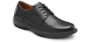 Dr, Comfort Men's Classic - Dress Shoes for Bursitis