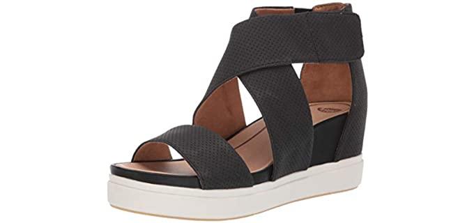 Dr. Scholls Women's Sheena - Wedge for Large Feet