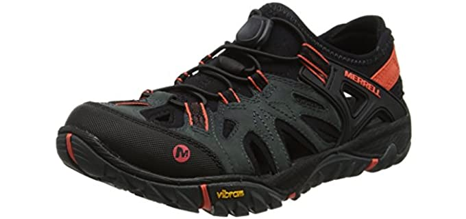 Merrell Women's All Out Blaze Sieve - Out of Water Shoes for Snorkelling