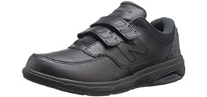New Balance Men's 813V1 - hook and Loop Bunion Shoe