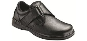 Orthofeet Men's Broadway - Standing All Day Dress Shoe