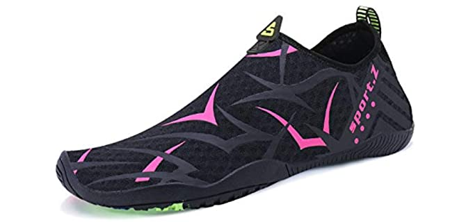 Pengcheng Unisex Quick-Dry - Water Sports Shoes for Snorkelling