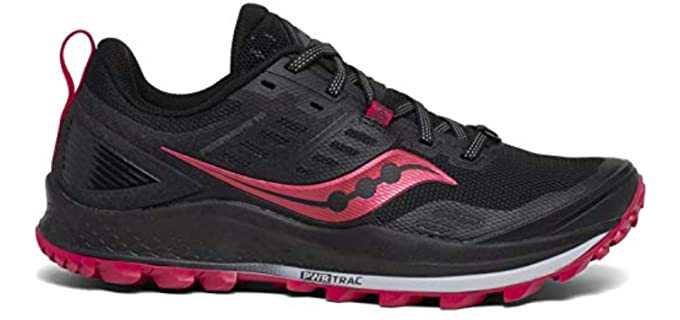 Saucony Women's Peregrine 10 - Trail Running Shoe for Women Over 50