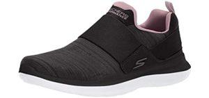 Skechers Women's Go Run Mojo Slip On - Plantar Fasciitis Running Shoes
