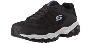 Skechers Men's Afterburn - Comfort Work Shoe