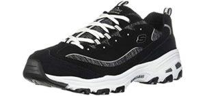 Skechers Women's D'Lites - Plantar Fasciitis Casual Walking Shoes