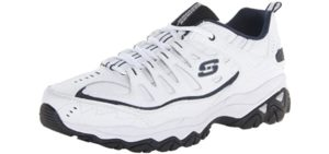 Skechers Men's Afterburn - Casual Comfortable Laboratory Work Shoes