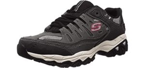 Skechers Men's Afterburn - Casual Supination Shoes