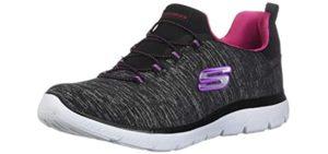 Skechers Women's Summits-Quick Getaway - Wider Width Arthritis Shoes