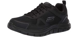 Skechers Men's Track Scloric - Diabetic Athletic Dress Shoe