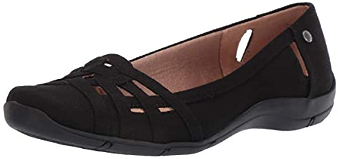 LifeStride Women's Diverse - Flat Shoes for Narrow Heels