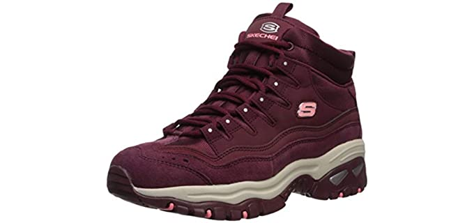 Skechers Women's Energy-Cool Rider - Comfortable Ankle Boots for Walking
