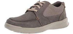 Clarks Men's Cotrell Lane - Achilles Tendinitis Casual Sneaker Shoe